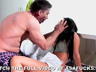 Voluptuous goddess Asa Akira got scared and penetrated by zombie