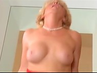 Mature blonde surprises with amazing anal sex this handsome young gigolo
